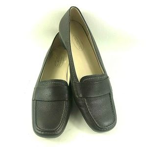 Talbot Womens Sz 7 Penny Loafer Brown